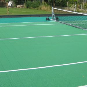 Image ofRooftop Tennis Court Leuven – Outdoor Hard Court Solution