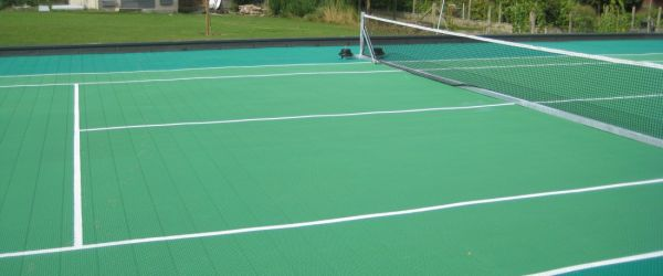 Image of  Rooftop Tennis Court Leuven – Outdoor Hard Court Solution