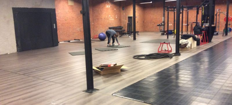 Top Sports Floor Move to Cure Antwerp – Indoor Hard Court Solution