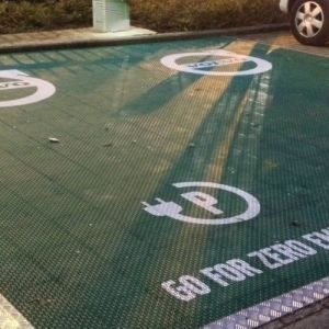 Image ofMarketing Floor Volvo – Outdoor Hardcourt Solution Plus Branding